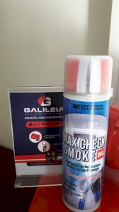 Spray para Teste Detector de Fumaça